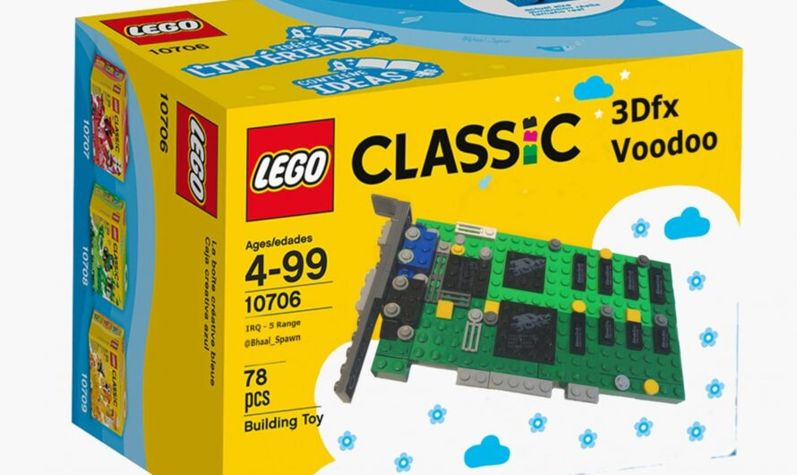 A 3dfx Graphics Card is up on the Lego Ideas Website