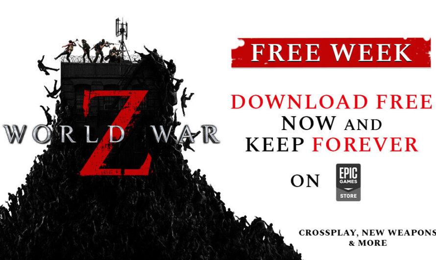 World War Z is Currently Free on the Epic Games Store