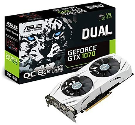 ASUS Dual Series GeForce GTX 1070 OC Edition 8GB