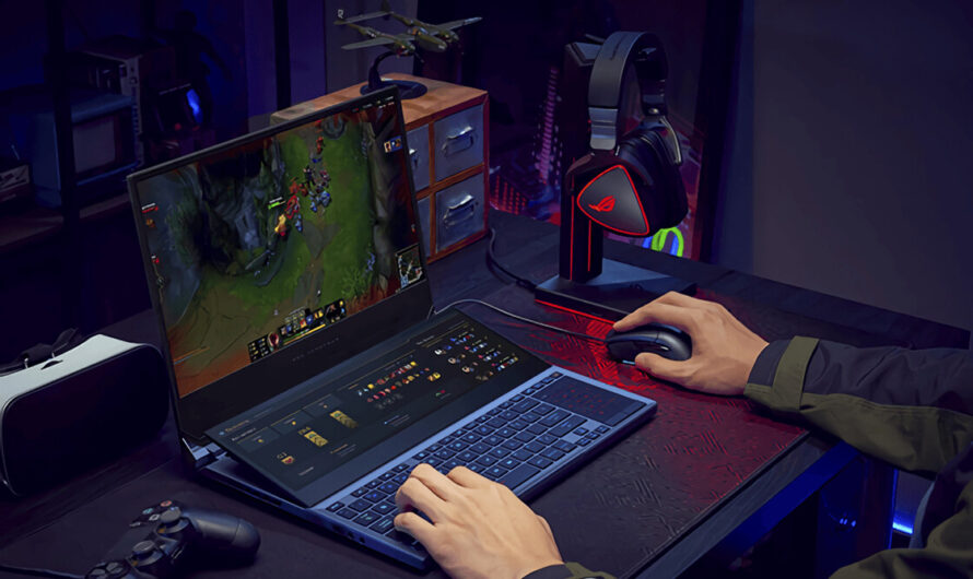ASUS Reveals Dual Screen ROG Zephyrus Duo 15 Laptop