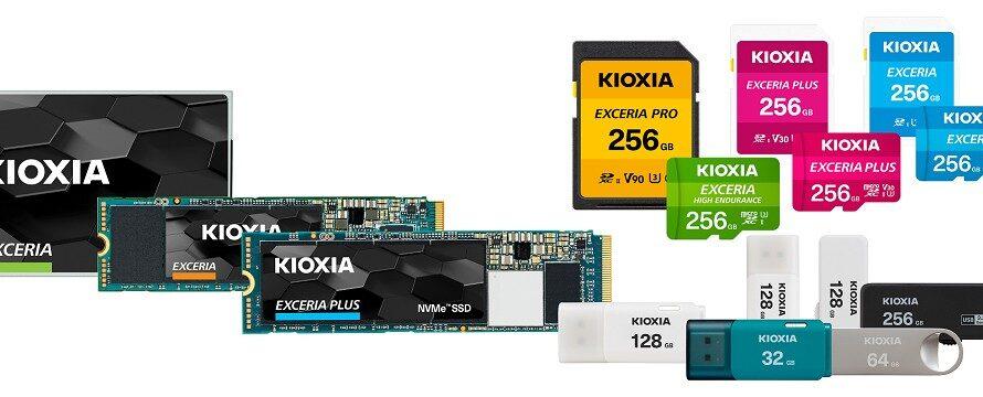 Kioxia has announced its new consumer product portfolio