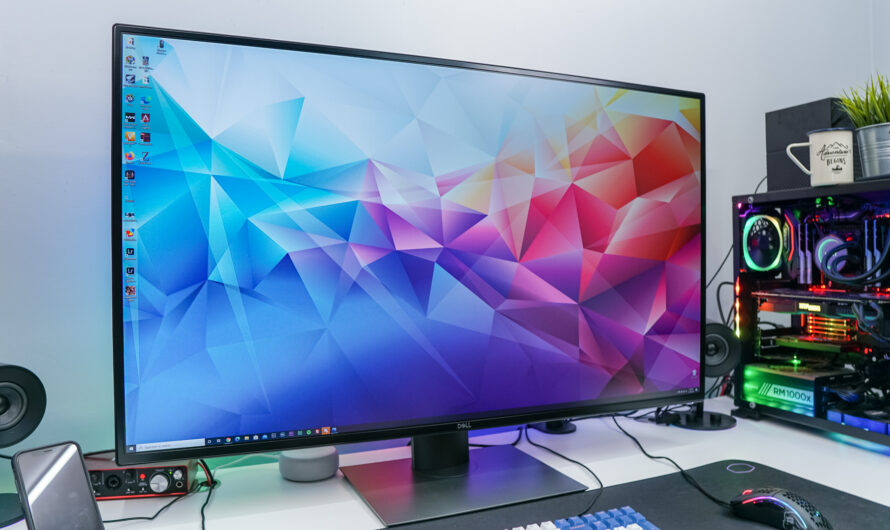 Dell UltraSharp U4320Q 42.5-inch 4K Monitor Review