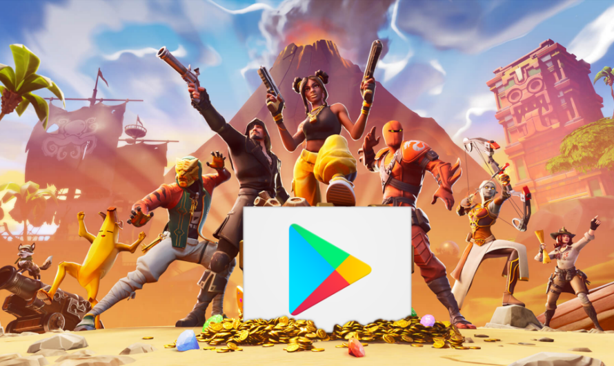 Fortnite finally comes to the Google Play Store