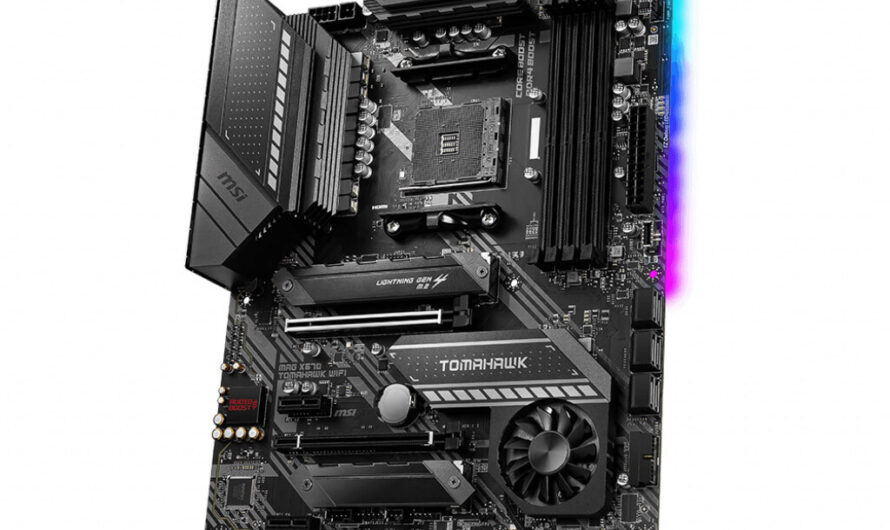 MSI Announces MAG X570 Tomahawk WiFi Motherboard