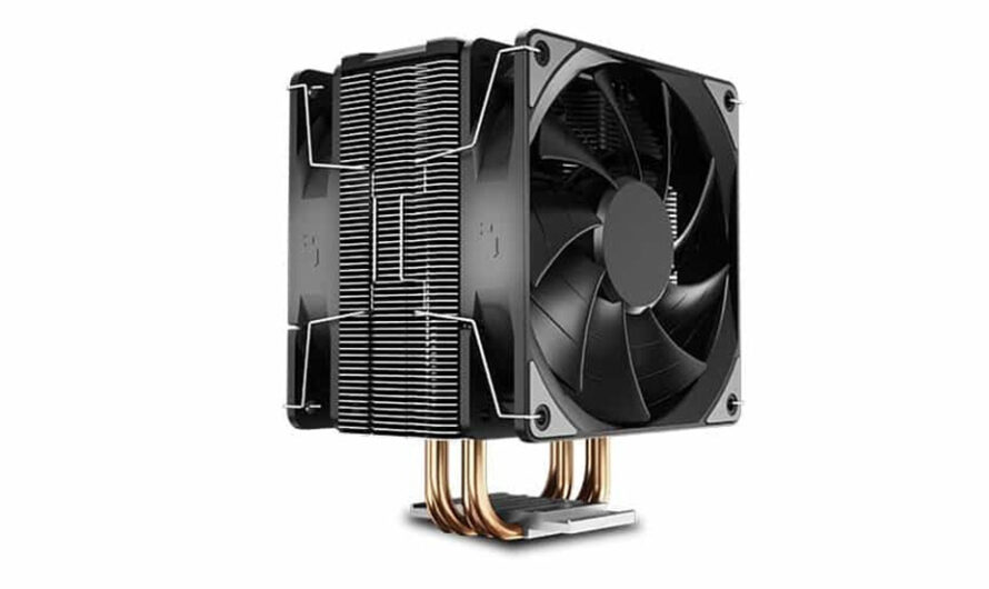 Deepcool Announces the GAMMAXX 400 EX CPU Cooler