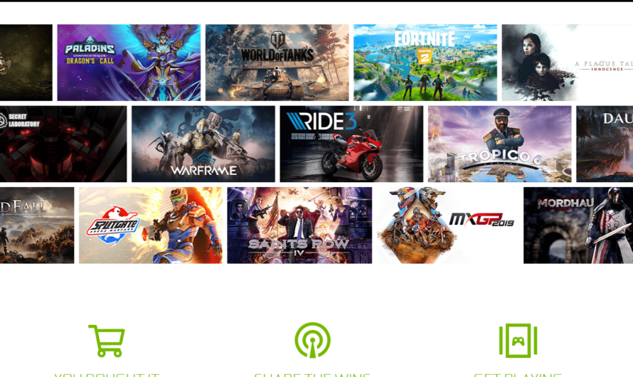 GeForce NOW supports DLSS 2.0, includes new games