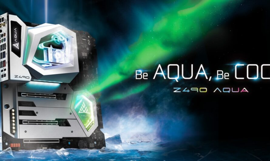ASRock Launches the Z490 AQUA Flagship Motherboard