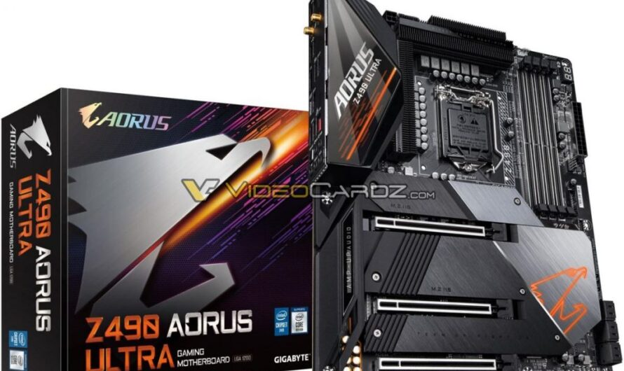 Z490 motherboards are now up for pre-order