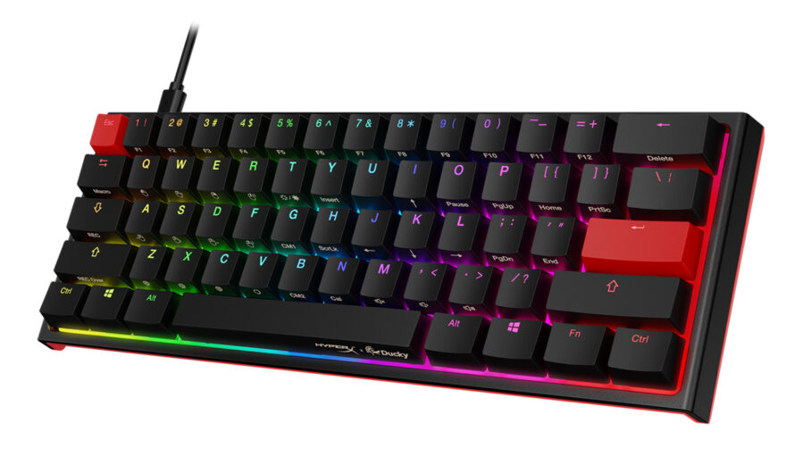HyperX Teams up with Ducky and Launches HyperX x Ducky One 2 Mini Mechanical Gaming Keyboard