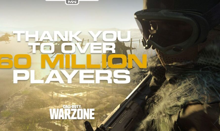 Call of Duty: Warzone reaches 60 million players