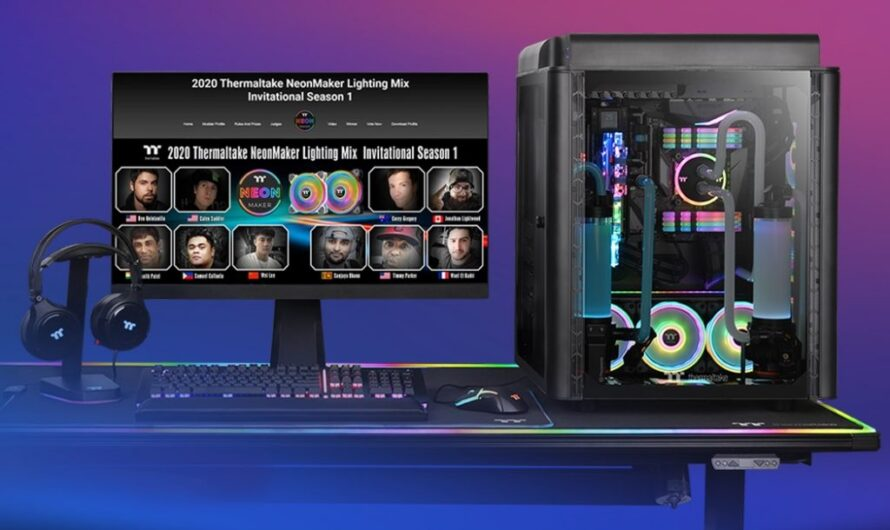 Thermaltake adds TOUGHRAM RGB support to its NeonMaker RGB software
