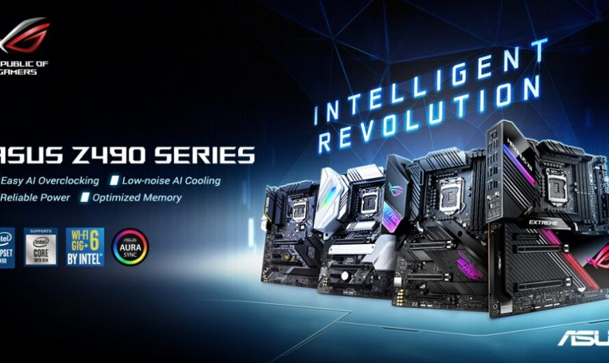 ASUS Z490 motherboard line-up and UK pricing