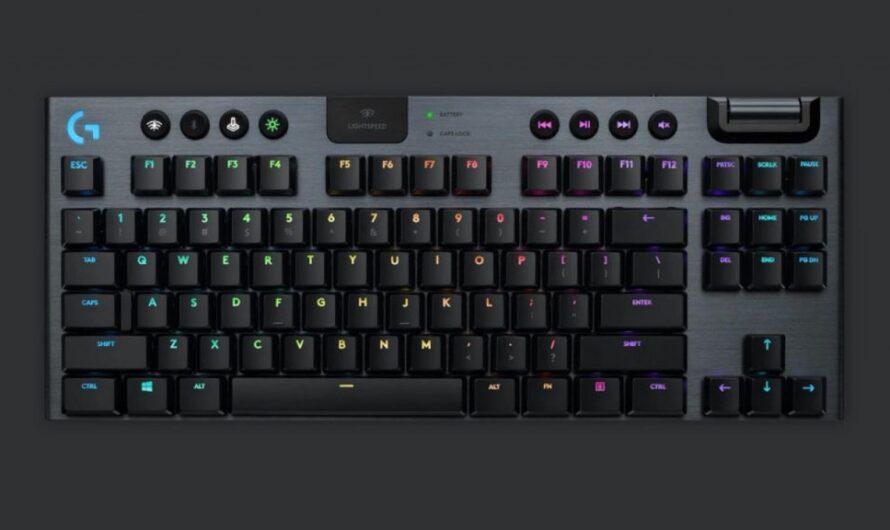Logitech announces G915 TKL Lightspeed Wireless RGB mechanical keyboard