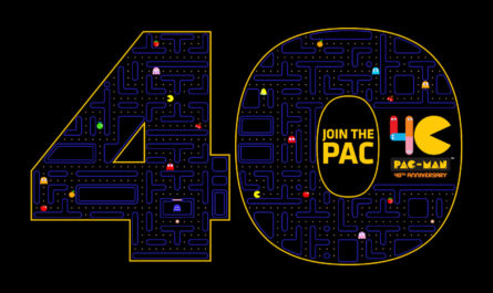 pac-man,-the-original-video-game-super-star,-celebrates-his-40th-birthday