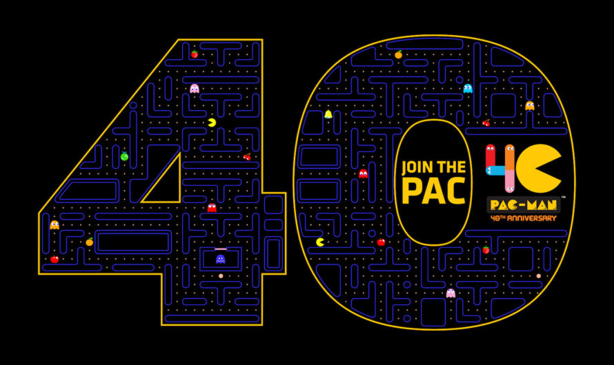 PAC-MAN, the Original Video Game Super Star, Celebrates His 40th Birthday