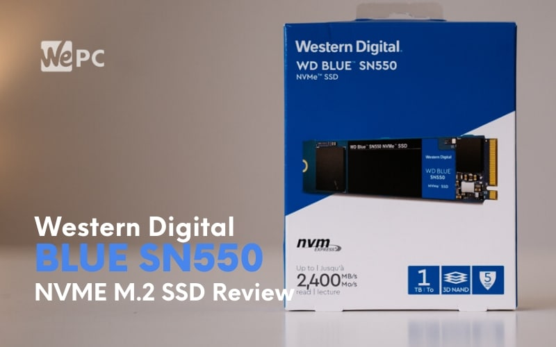 WD Blue SN550 1TB NVME M.2 SSD Review