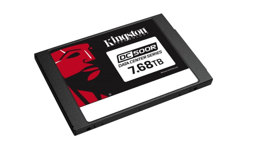 Kingston begins shipping 7.68 TB data centre SSDs