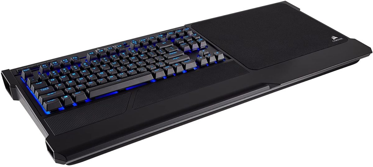 Corsair K63 Wireless Keyboard And Gaming Lapboard Combo