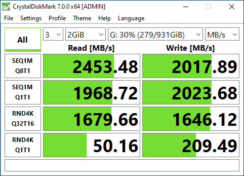 SN550 CDM