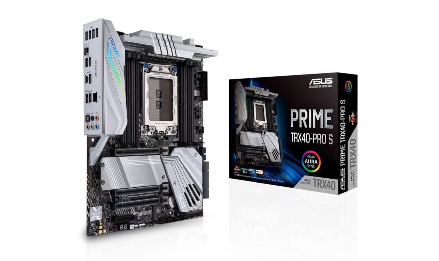 ASUS Releases Prime TRX40-PRO S Motherboard