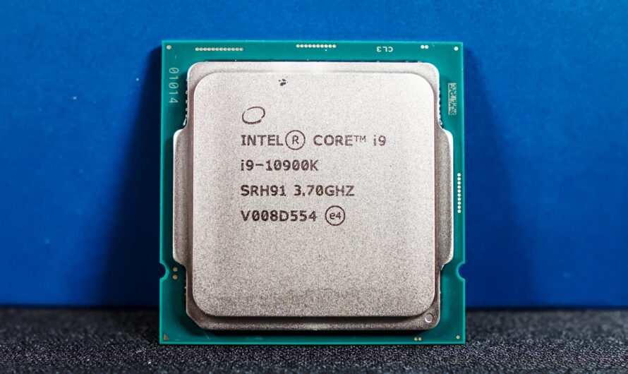 Intel reveals Comet Lake-S power draw information