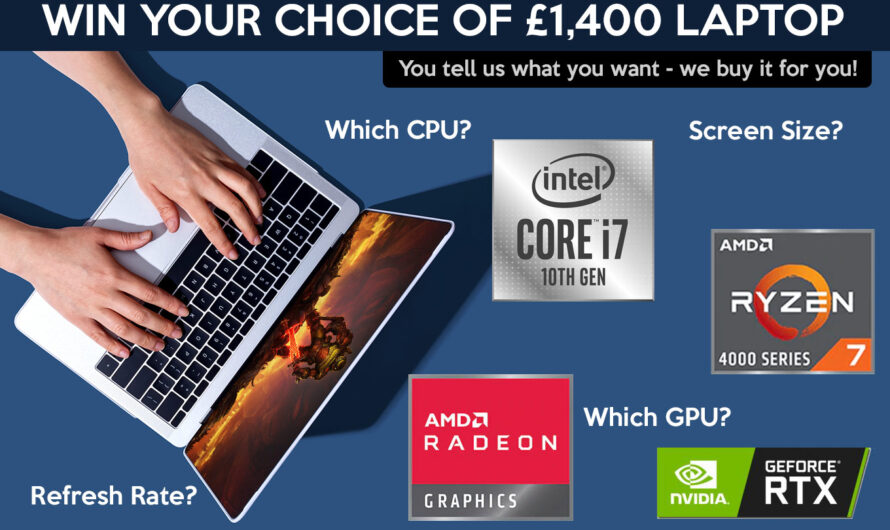 Win a £1,400 laptop of your choice in our READER SURVEY!