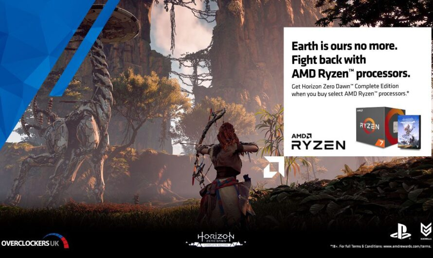 AMD Ryzen 3000 series CPUs bundled with Horizon Zero Dawn in the UK market