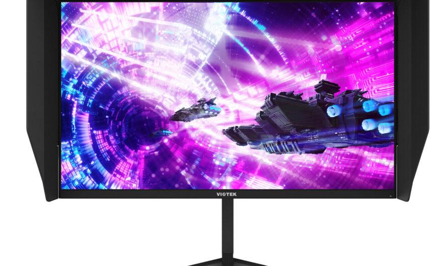 Viotek Unveils GFI27QXA 27-inch 4K IPS 144 Hz Gaming Monitor