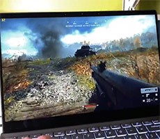 Intel Tiger Lake Laptop With Xe Graphics Shown Rocking Battlefield V