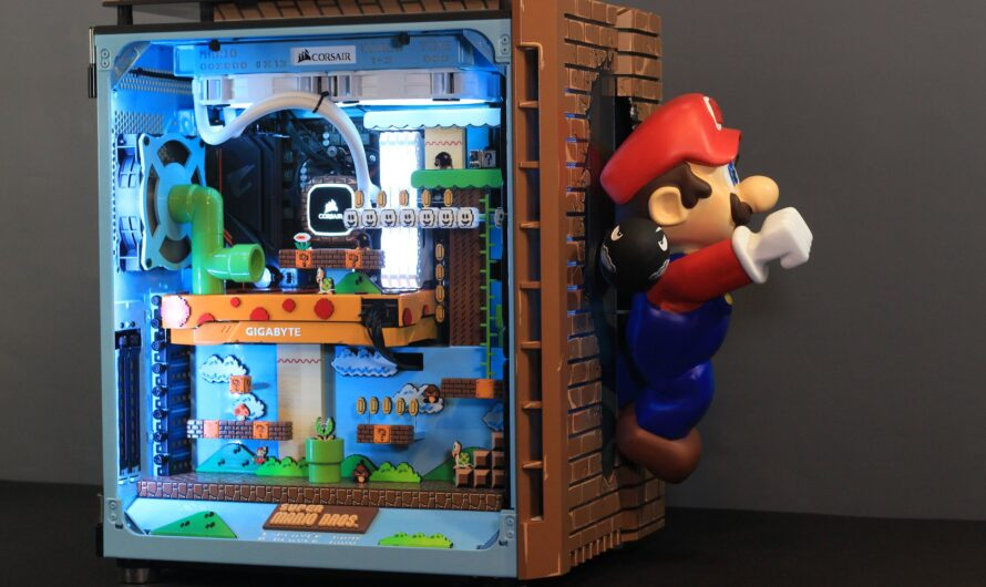 Case Mod Friday: Mario