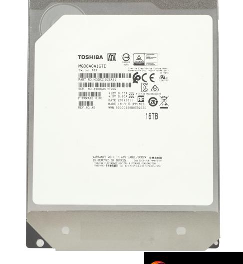 Toshiba MG08 (MG08ACA16TE) 16TB HDD Review