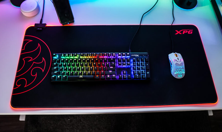 XPG Battleground XL Prime RGB Mouse Pad Review