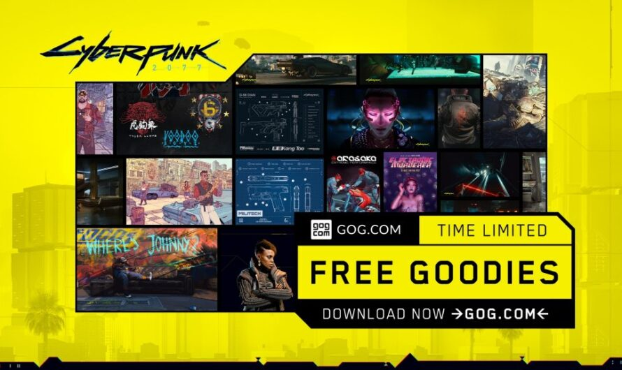 GOG releases limited-time Cyberpunk 2077 goodie pack and brings back Ultimate RED Bundle