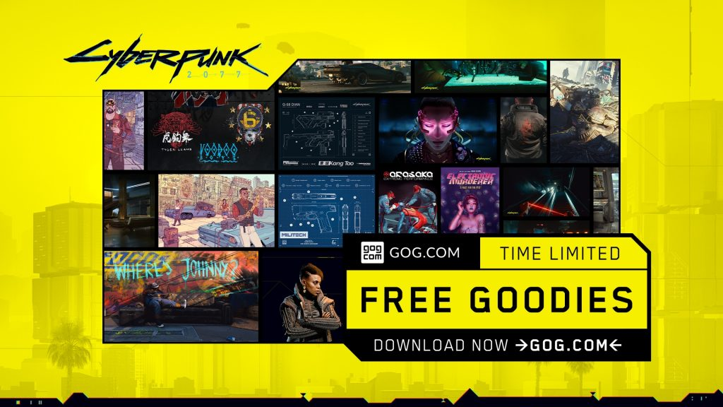 gog-releases-limited-time-cyberpunk-2077-goodie-pack-and-brings-back-ultimate-red-bundle