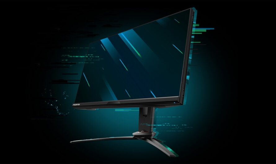 Acer Pushing The Limits With Predator X25 360Hz Gaming Monitor