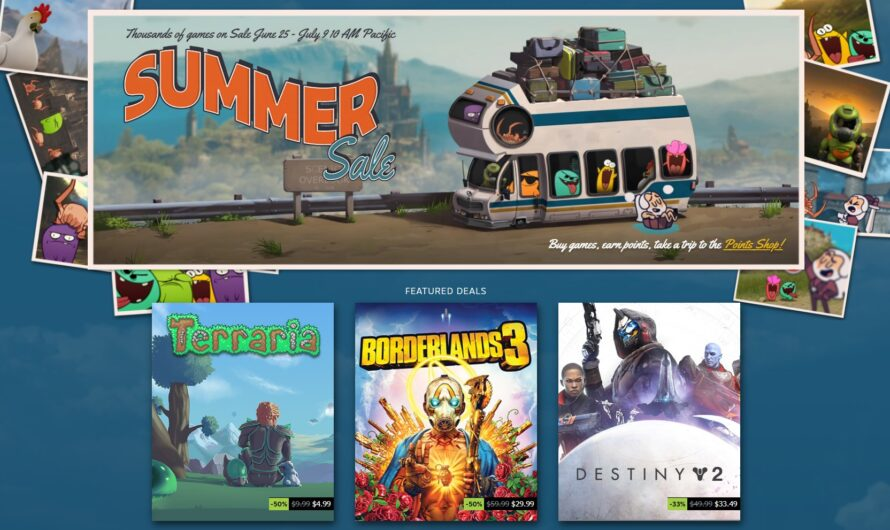 Steam Summer Sale is Here, with Deep Discounts on Thousands of Games