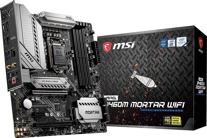 MSI MAG B460M Mortar WiFi Gaming