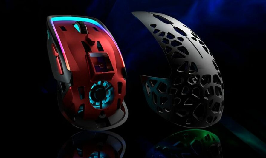 Zephyr Gaming Mouse Brings RGB Air Cooling For the First Time