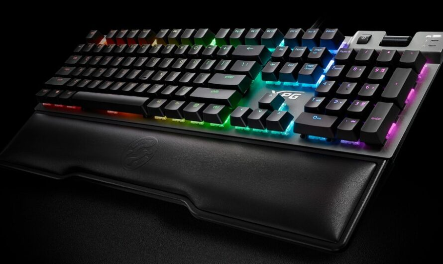 XPG Summoner RGB Keyboard Review