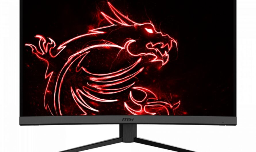 Optix MAG272C Monitor with 1500R Curve and 165Hz Refresh Rate Announced By MSI