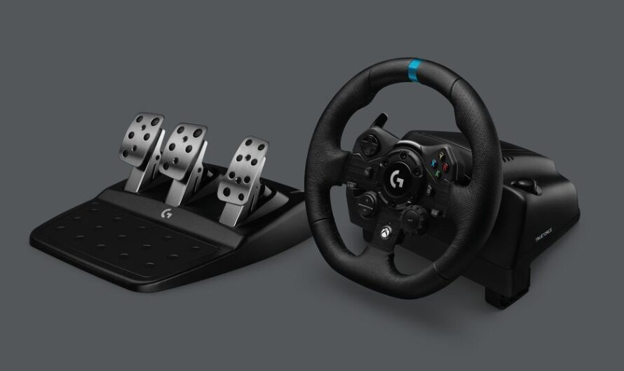 Logitech G announces TRUEFORCE Racing Wheel for PC and Xbox One