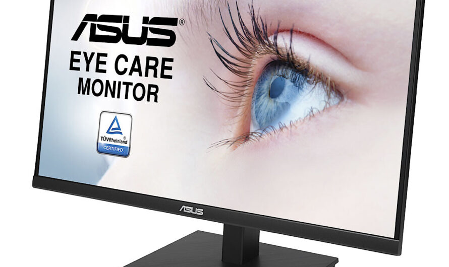 27-Inch Eye Care Monitor VA27AQSB Announced By ASUS