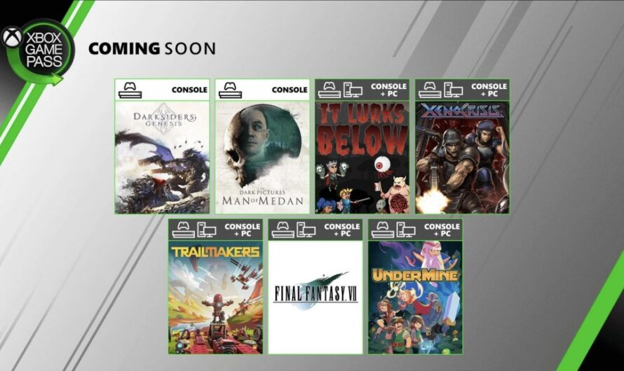 Final Fantasy VII HD is coming to Xbox Game Pass this month