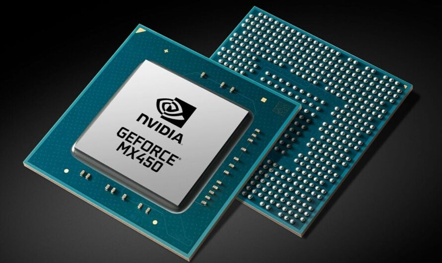 Nvidia quietly launches the GeForce MX450 with PCIe 4 support for laptops