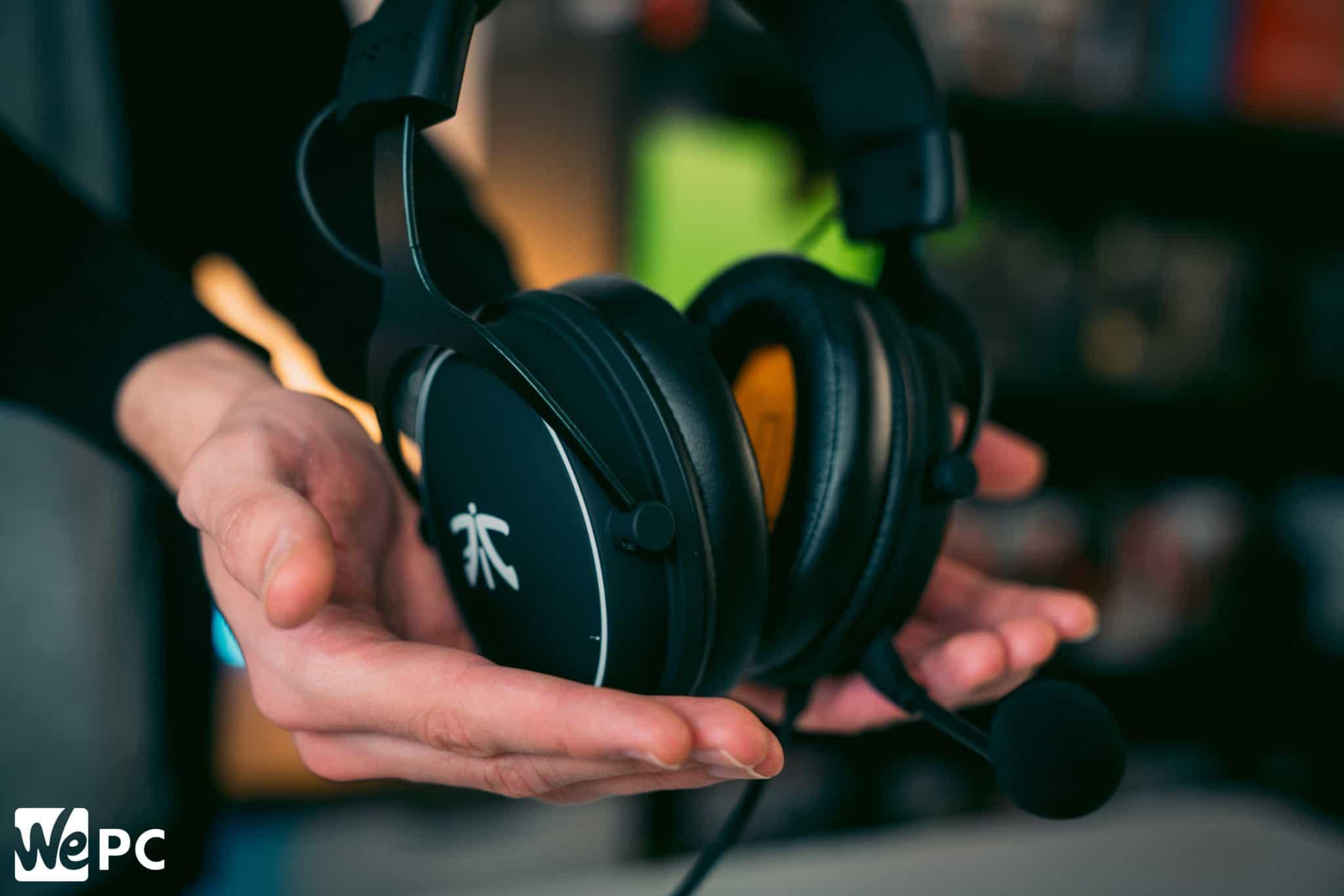 Gaming headset React Fnatic