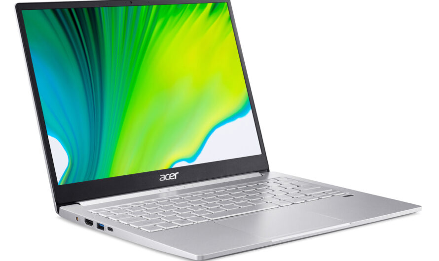 The Acer Swift 3 and Swift 5 put Intel's Tiger Lake CPU into affordable laptops