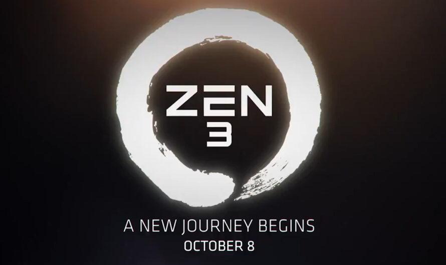 AMD sets October 8 date for next-gen Ryzen 'Zen 3' launch