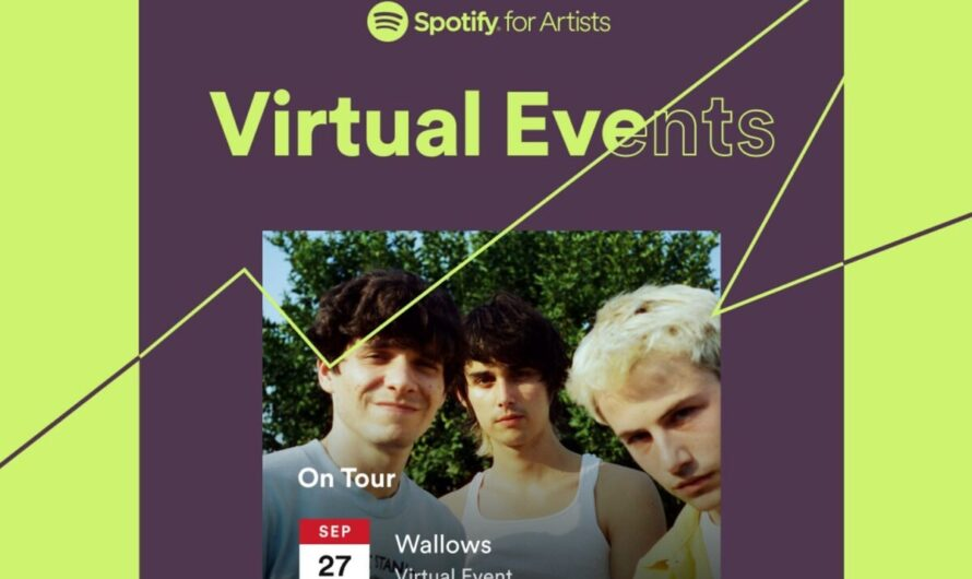 Spotify now lists virtual concerts by your favorite artists