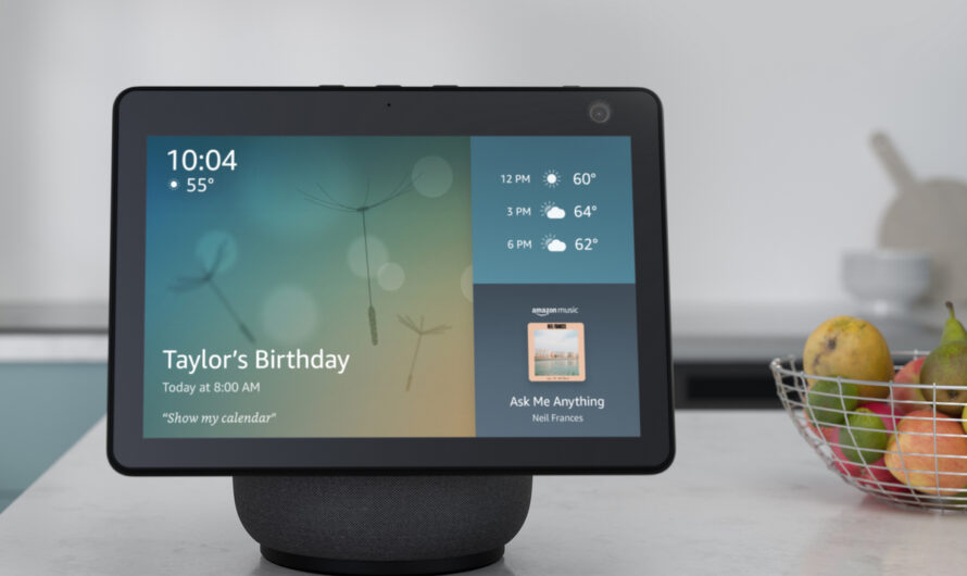 Amazon's Echo Show 10 features a motorized display