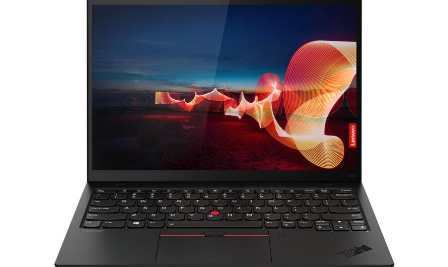 The Lenovo ThinkPad X1 Nano is the lightest ThinkPad ever built